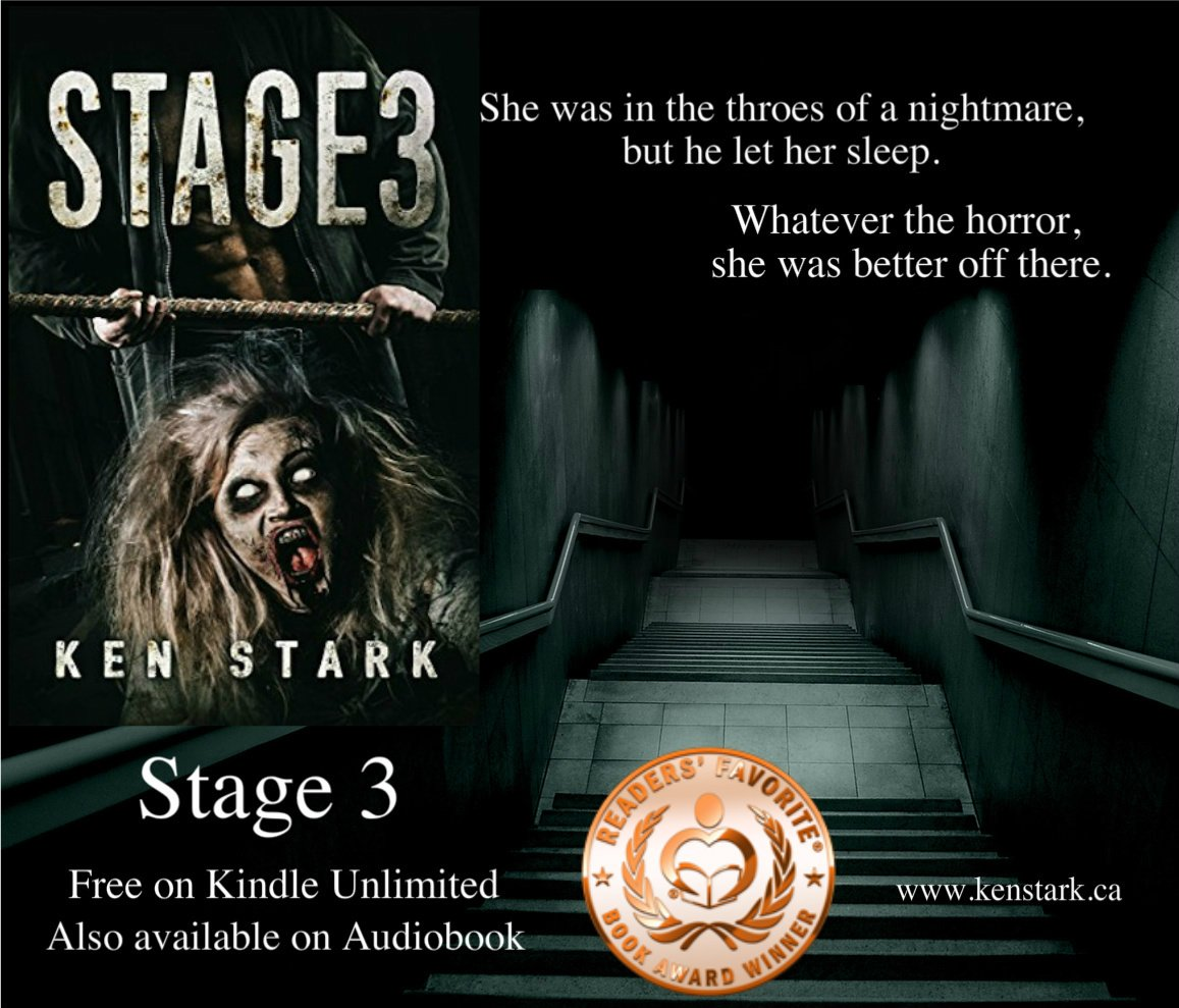 Maybe lying to himself to keep the future alive was a kind of hope after all.  #horror #zombie #apocalypse #amwriting #series #thriller #Stage3 #FREE w/ #KindleUnlimited   https://www. amazon.com/Stage-Apocalyp tic-Thriller-Ken-Stark-ebook/dp/B01CYITYOS &nbsp; … <br>http://pic.twitter.com/L3XK0xWrgb