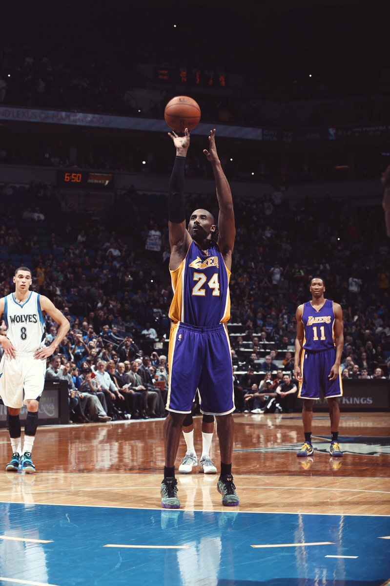 """online retailer ff70a 6a6b6 Three years ago today,  KobeBryant passed Michael Jordan on the all-time  scoring list in the Nike Kobe 9 Elite """"Mamba Moment"""" QS iDpic.twitter.com   ..."""