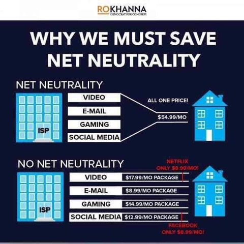 1e158bb0e81ae Why we must save Internet Neutrality! We will all pay more for internet  rates   billinare internet providers like Time Warner, Xfinity, AT T.