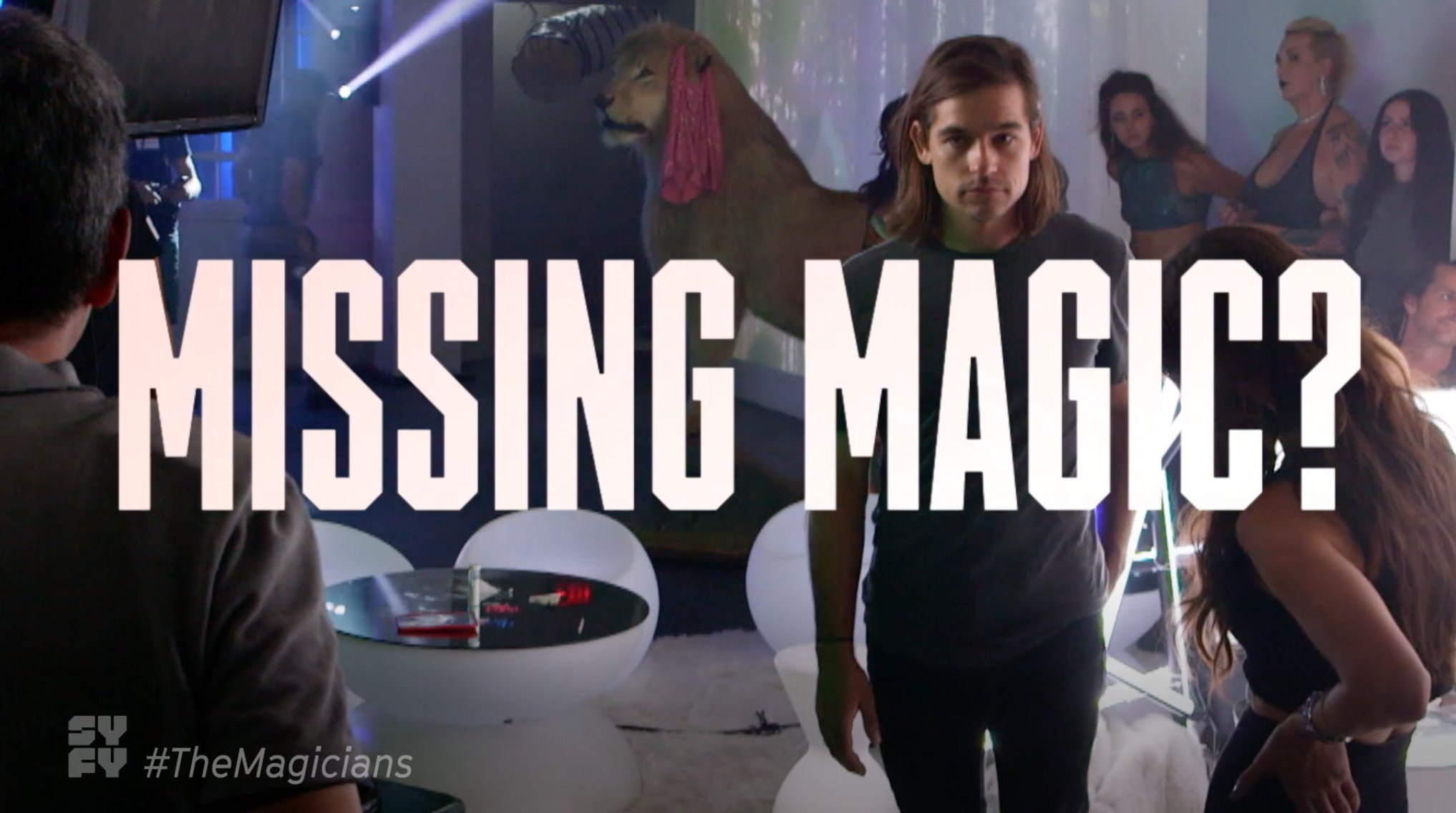 We lost magic, not our ability to throw epic parties �� �� #TheMagicians https://t.co/1XjEANtE01
