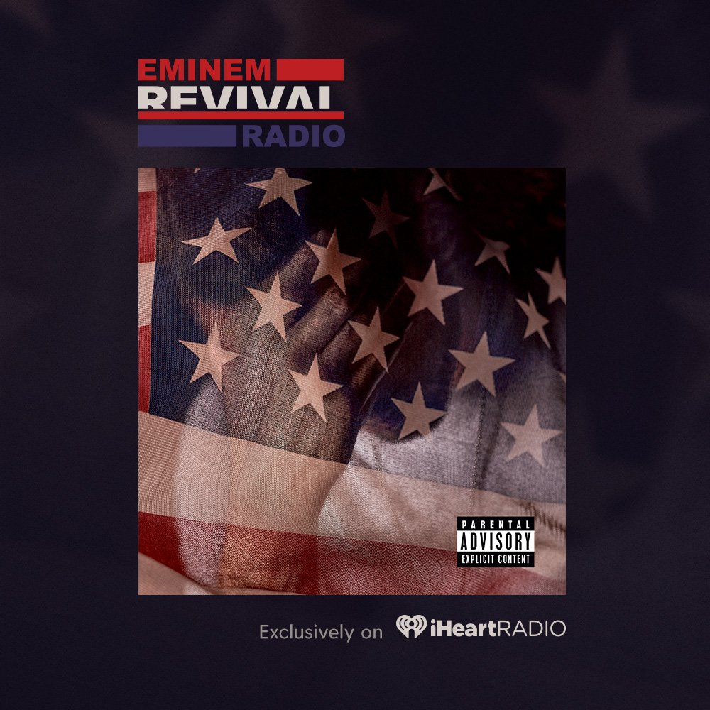 We're playing @Eminem's album FOR FREE all day on @iHeartRadio! Tell us what you think with #iHeartREVIVAL https://t.co/VYt9XfKxC1