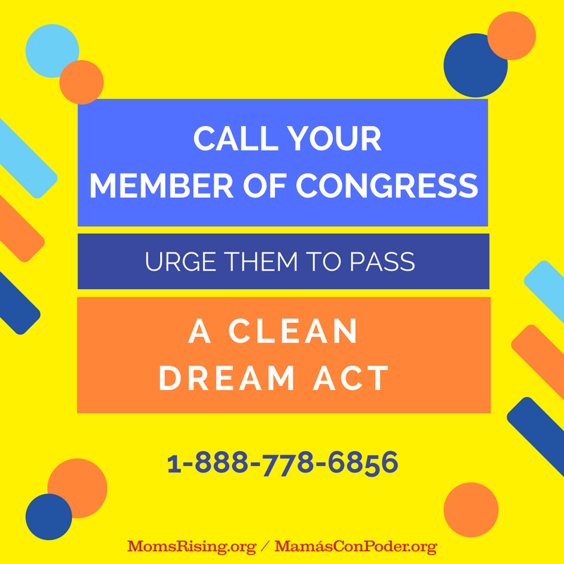 Immigrant youth can't wait! You can make a difference today by calling your member of Congress demanding that they pass a clean #DreamActNow. Call for a #DreamAct: 1-888-778-6856