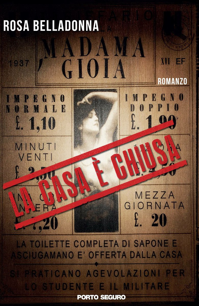 Image result for la caSA è chiusa Belladonna