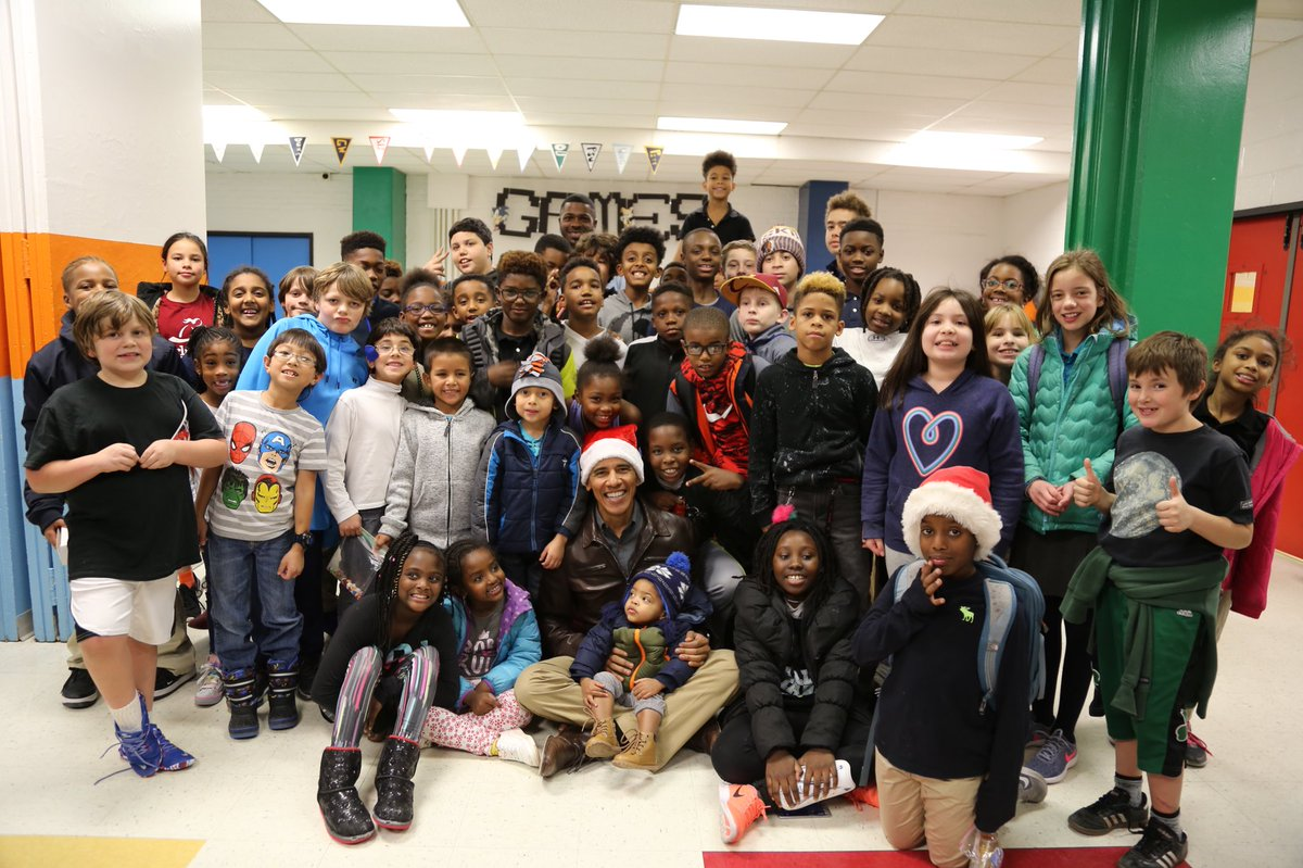 There's no better time than the holiday season to reach out and give back to our communities. Great to hear from young people at the Boys & Girls Club in DC today.