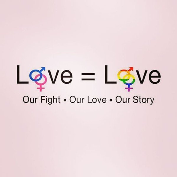 #LoveIsLove   Our Fight. Our Love. Our S...