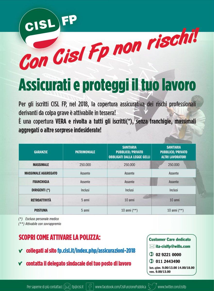 Io sono iscritto alla Cisl Fp. Iscriviti...