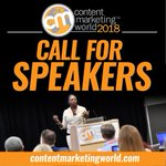💥 Put the finishing touches on your proposals because #CMWorld speaker submissions are due tomorrow! https://t.co/NqtMFArs4m