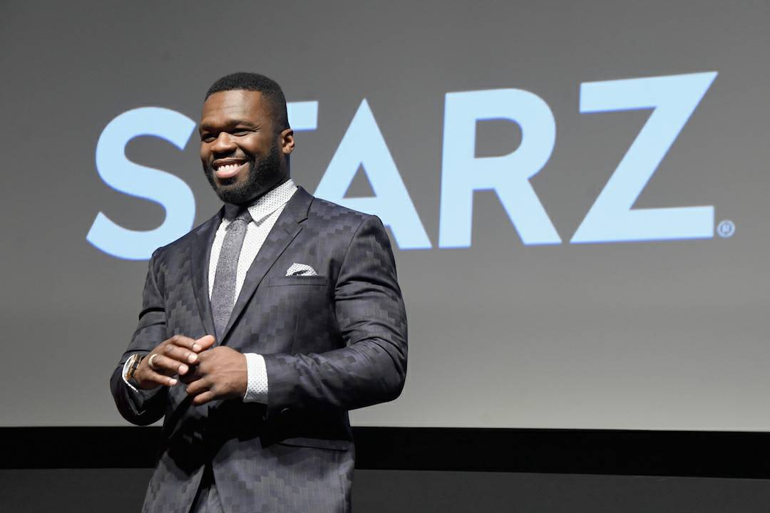 50 cent and STARZ Network continue their relationship. #Power https://t.co/J4uFs5ZZHf