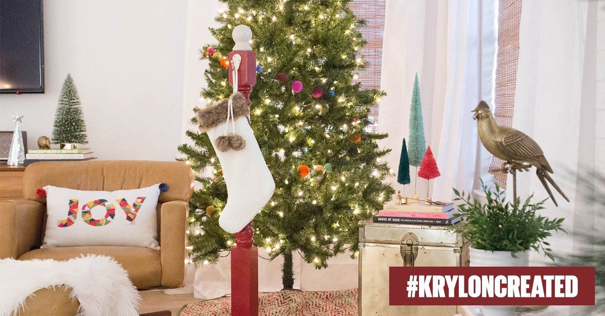 Katietay Added Krylon Red And White Holiday Stripes To Her Stocking Holder Ow Ly Mtemhedne Pic Twitter Com Eycdyinon
