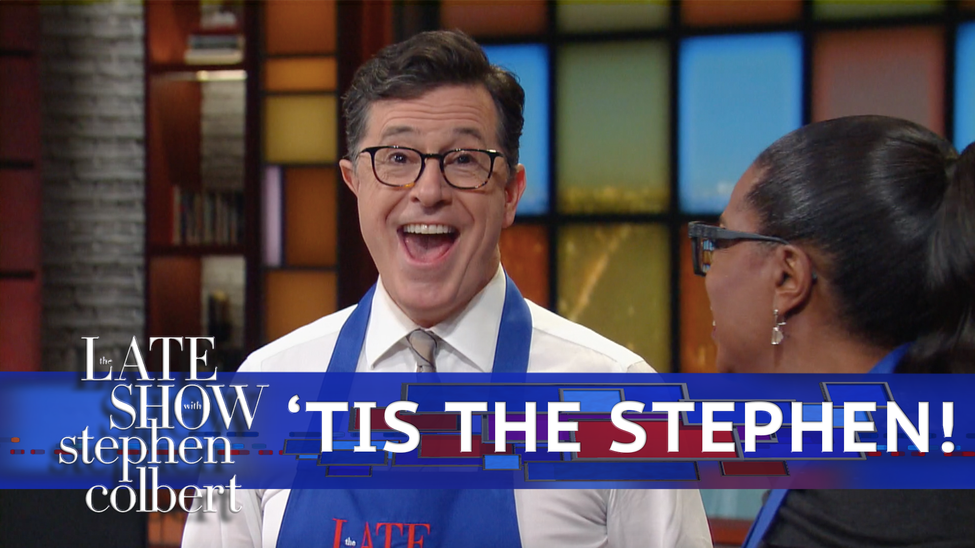 Now you can binge-watch a whole year of the Late Show in just 4 minutes! https://t.co/y8i0qVbekm
