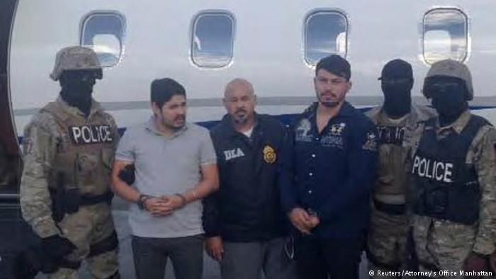 Justiça dos EUA condena parentes de Maduro a 18 anos de prisão por tráfico de drogas https://t.co/hitqY0pdrV