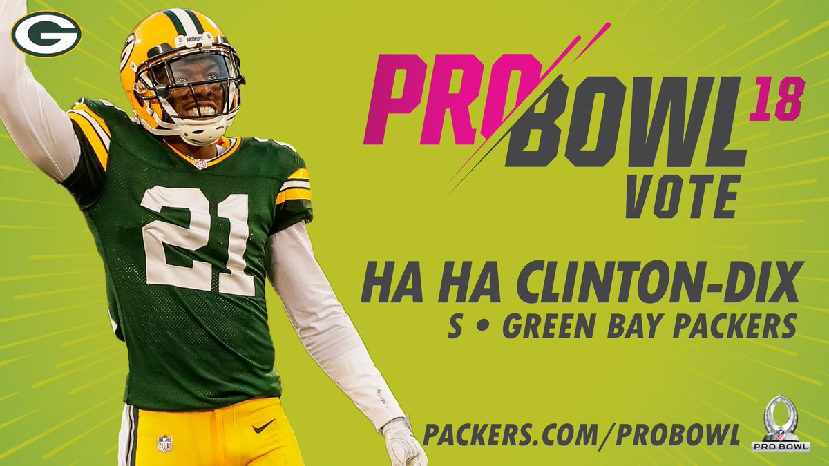 🚨 Last chance to vote! 🚨  RT to get Ha Ha Clinton-Dix back to the Pro Bowl!  #ProBowlVote   @haha_cd6 +    +    +     @haha_cd6+    +  @haha_cd6 @haha_cd6 @haha_cd6
