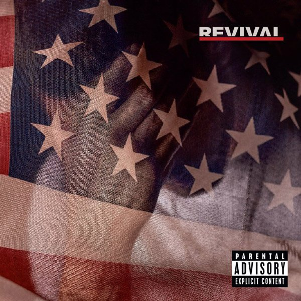 .@Eminem's 'Revival' album is here featuring @PHRESHER_DGYGZ @Beyonce @SkylarGrey and more 🇺🇸 https://t.co/s1y2gwkjcY