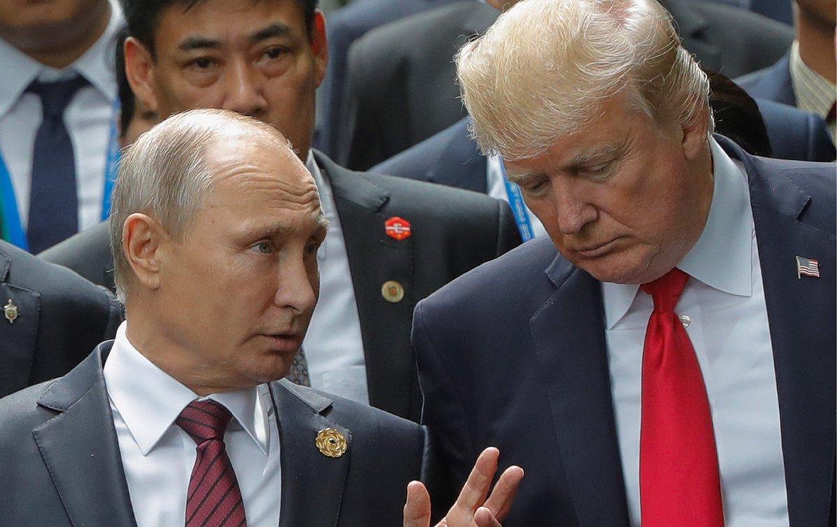 Трамп ночью позвонил Путину: Поблагодарил за добрые слова об экономике США на пресс-конференции и обсудил ситуацию с КНДР