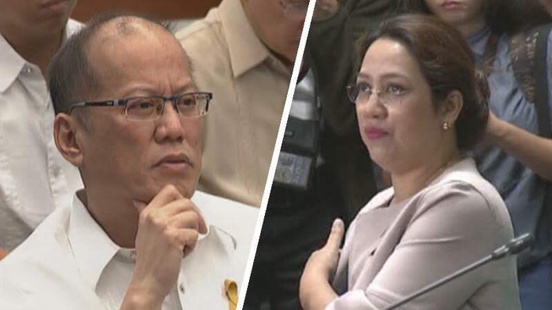 Image result for images of noynoy aquino with janette garin