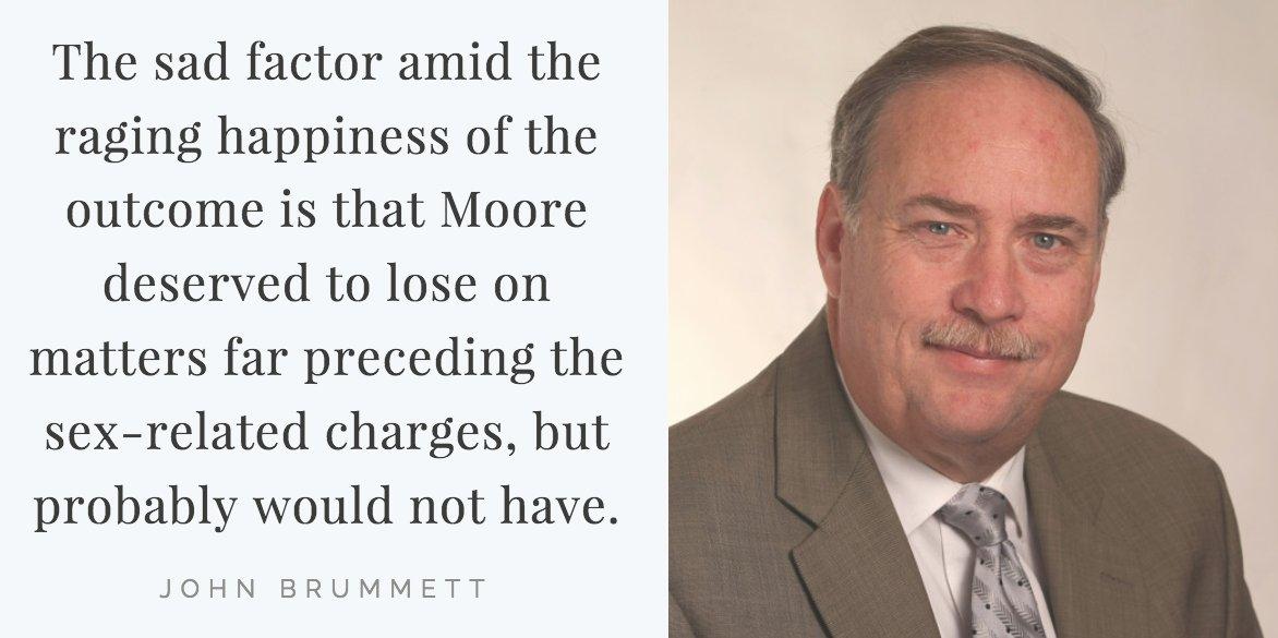 Columnist John Brummett considers Doug Jones' election to the U.S. Senate in Alabama, a race Brummett didn't think the Democrat would win » https://t.co/9wxoXvxhbB