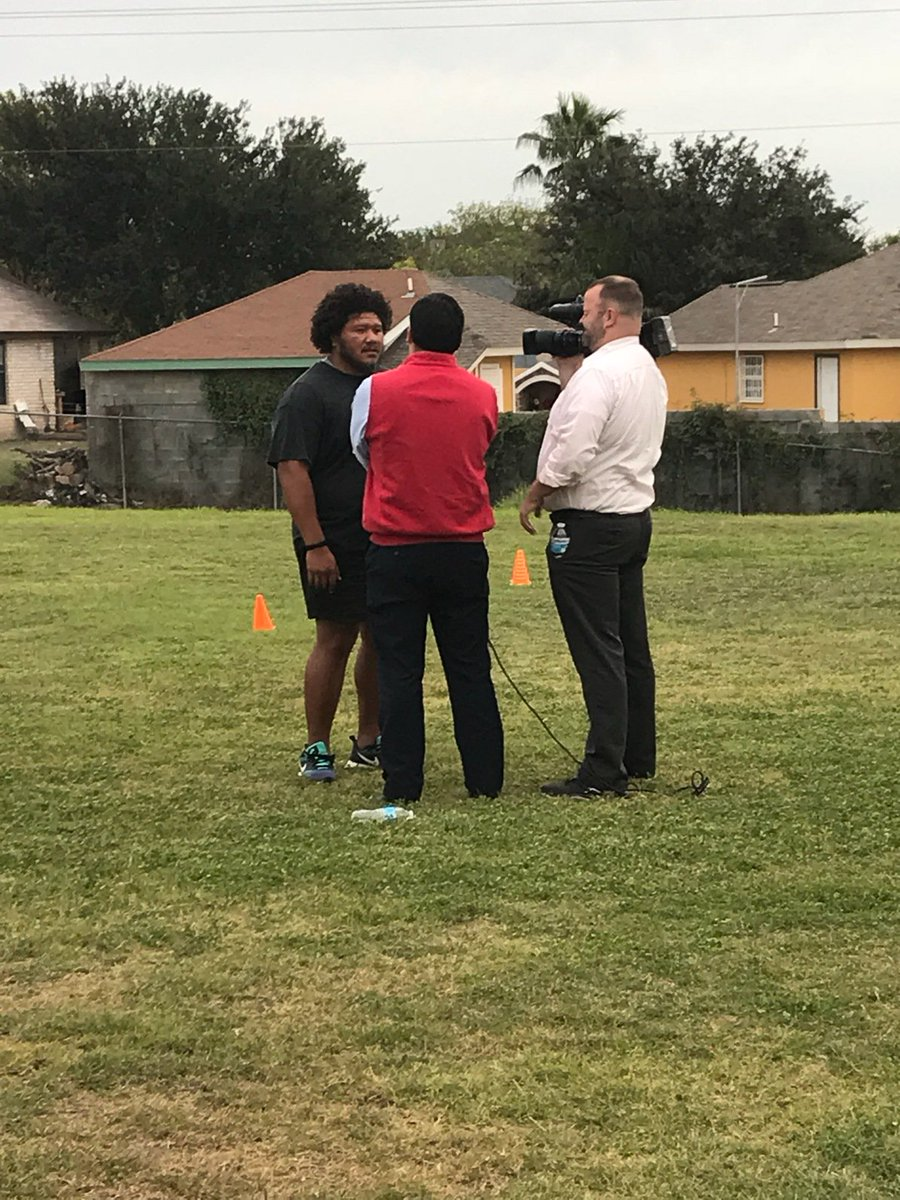 Laredo Rugby made it on CBS KGNS News TV