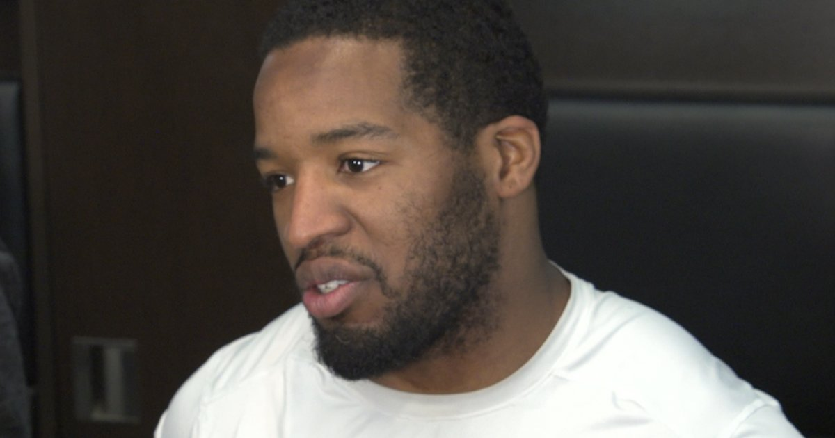"Alfred Morris discusses the team's mentality for the last few games of the season and the anticipation of playing in Oakland's 'Black Hole.""  🎥: https://t.co/VC653ziZmV"