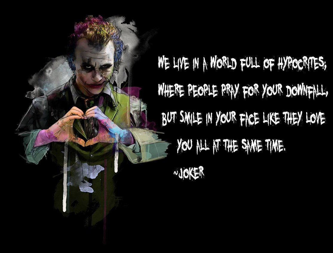 life mystery on joker quotes smile love people