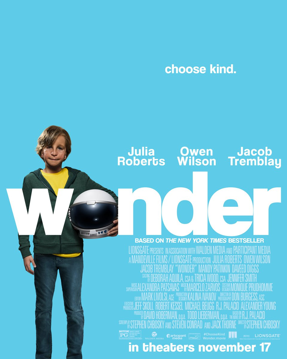 RT @Sirjamieharvey: Just watched #WonderTheMovie and I think I might have cried my bodyweight in tears... https://t.co/LJCSrJJAKG