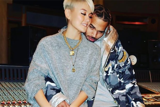 #ChrisBrown teams up with Indonesian Superstar #AGNEZMO on his new Single #OnPurpose from his latest deluxe edition of #OnAFullMoon!🔥🔥🌟  https://t.co/zLCa96c6b3