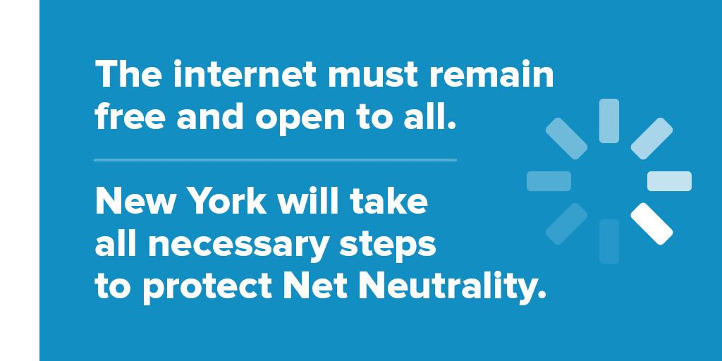 A free and open internet is crucial for democracy. #NetNeutrality