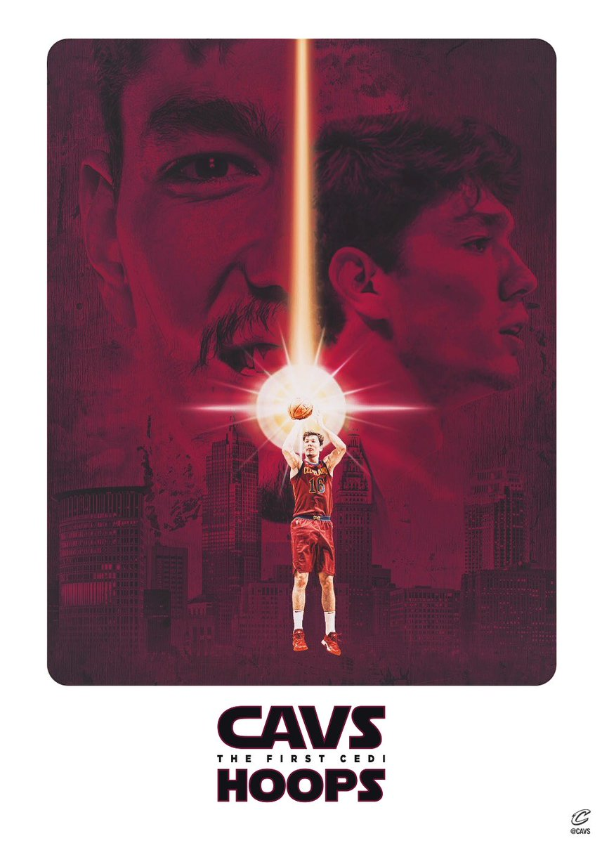 Now playing at @TheQArena 🎥🍿  #TheFirstCedi | #CavsLakers