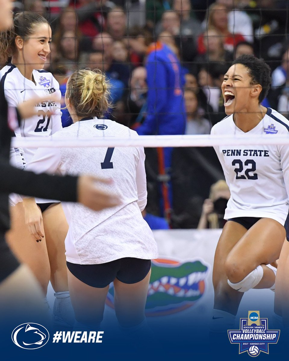 Set 3 = ours.  #WeAre #NCAAVB https://t....