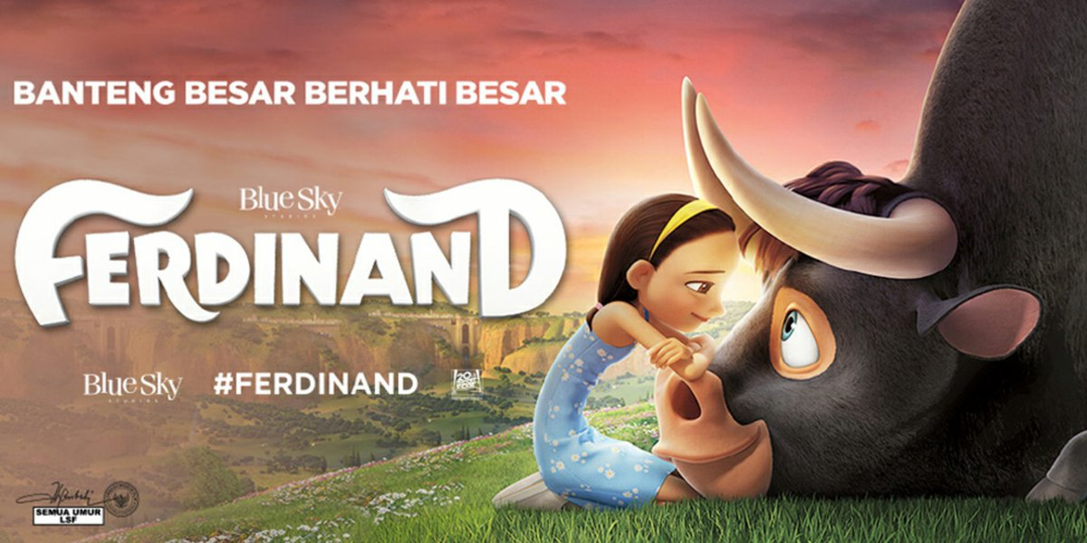 Preview Film Ferdinand 2017 Edwin Dianto New Kid On The Blog