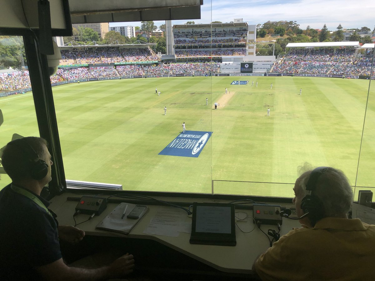 We're underway for day 2 at the WACA. Join @jimmaxcricket & Simon Katich now