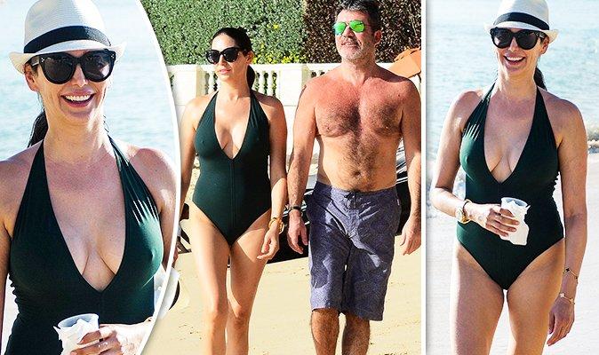 Simon Cowell's partner Lauren Silverman stuns in plunging swimsuit https://t.co/eXhlLI8eSJ