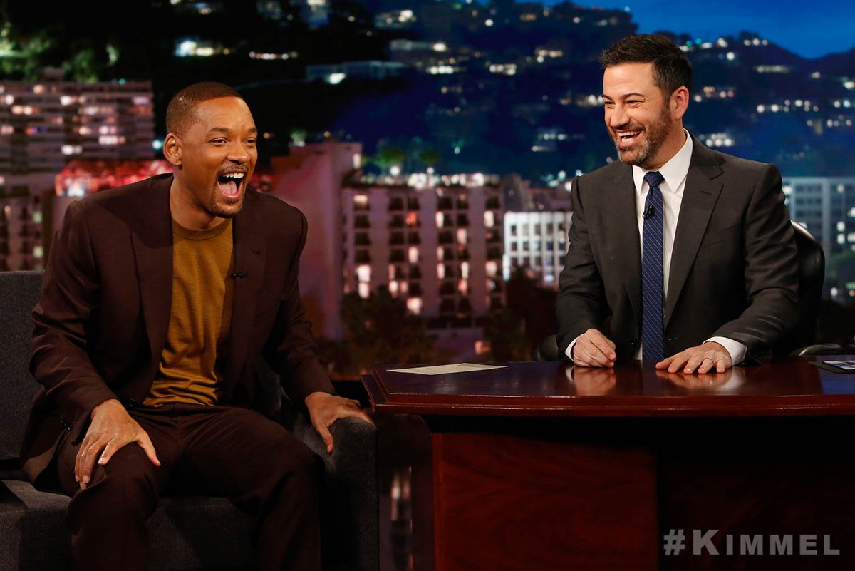Image result for will smith jimmy kimmel