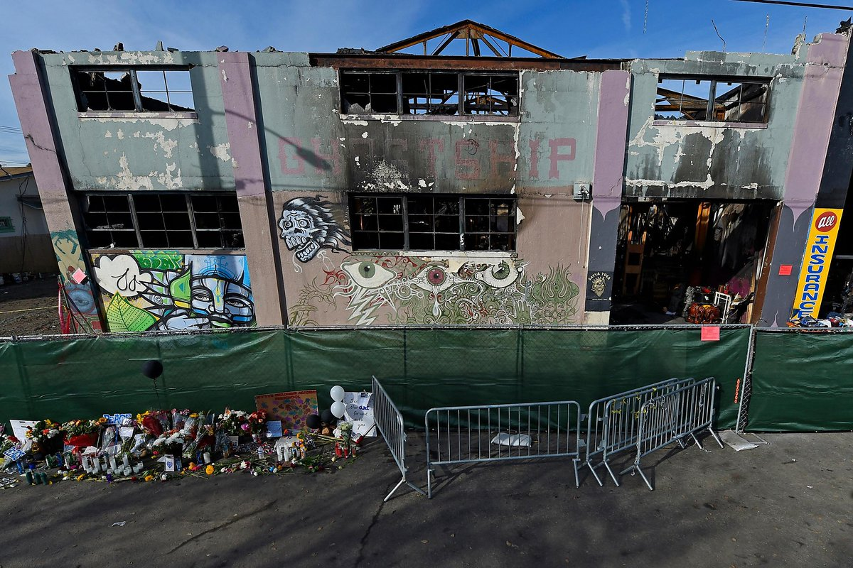 Oakland fire marshal found no warning about Ghost Ship hazards https://t.co/cOlEwKpKVm