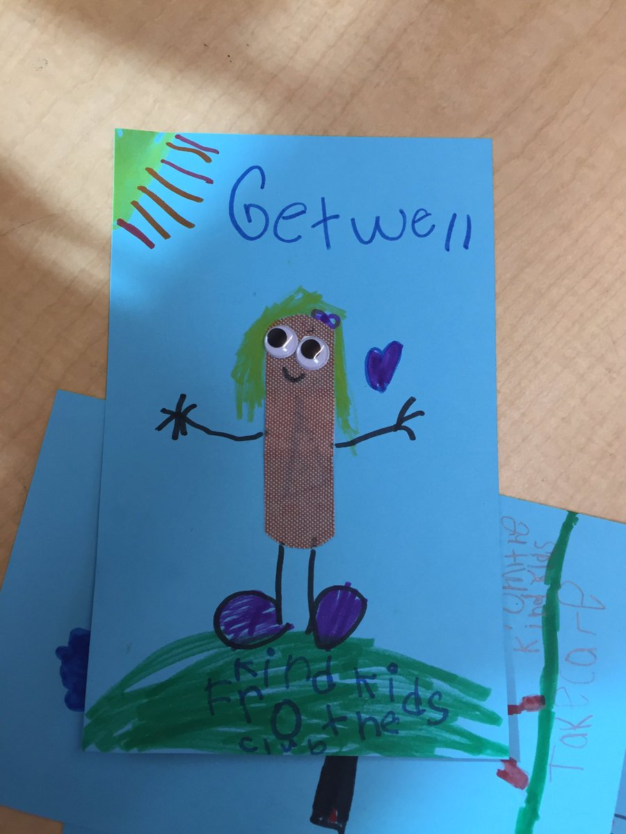 Sarah Strazzo On Twitter Making Get Well Cards For Students Who