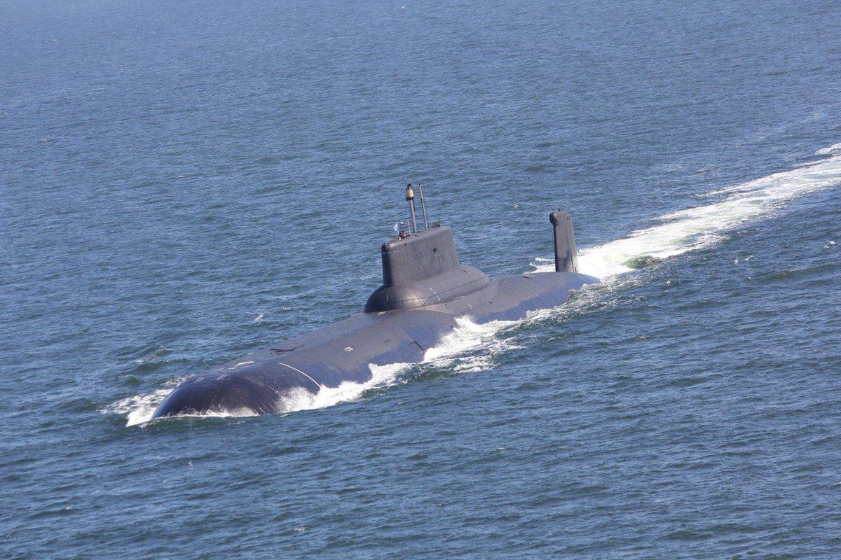 В Беломорской военно-морской базе Северного флота состоятся мероприятия, посвящённые 35-летию самой большой в мире подводной лодки – тяжёлого атомного ракетного крейсера стратегического назначения «Дмитрий Донской» https://t.co/1md3oxTzl1