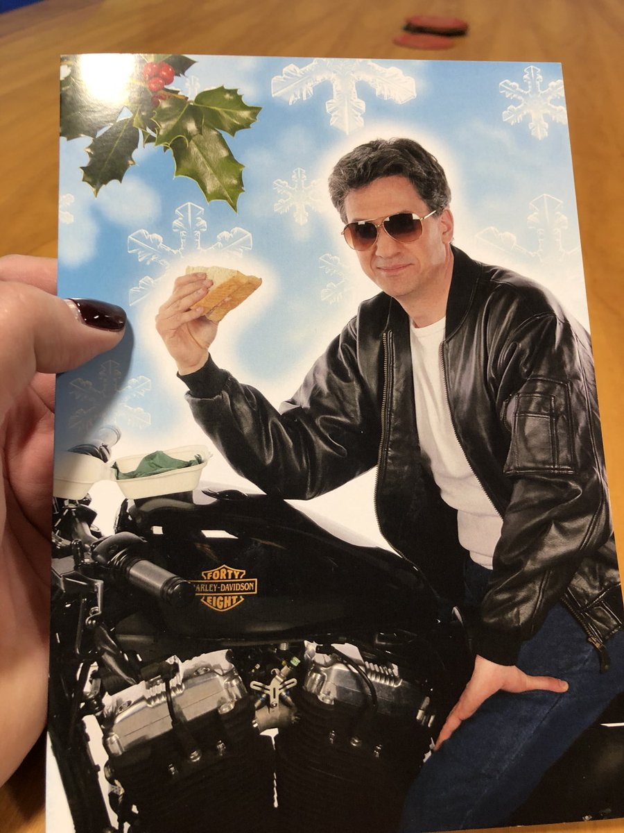 Opening up Christmas &amp; birthday cards &amp;it's unanimous @mydoncaster . #Doncaster north MP  @Ed_Miliband has won the coolest #ChristmasCard EVER contest . Nice one Ed , well played  <br>http://pic.twitter.com/uKkN314RRr
