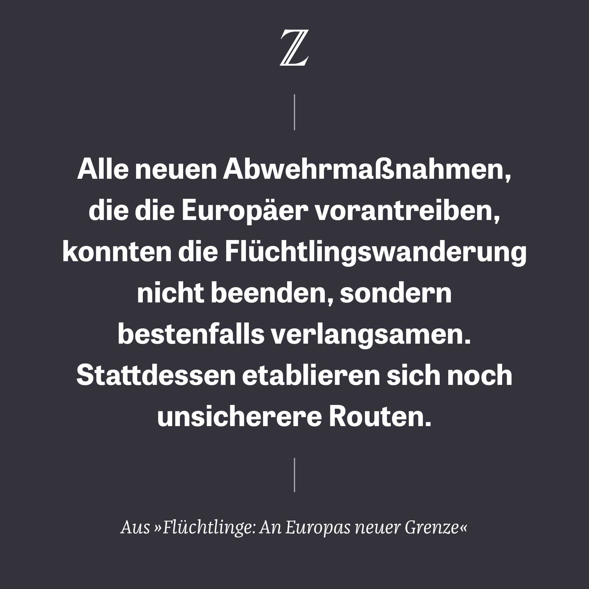 Um Flüchtlinge abzuhalten, verschiebt Europa seine Grenzen und scheut dabei auch keine dunklen Geschäfte. Unsere Autoren zeigen: Die Abwehrzonen reichen bis nach Westafrika. https://t.co/DIFx5CNMI8