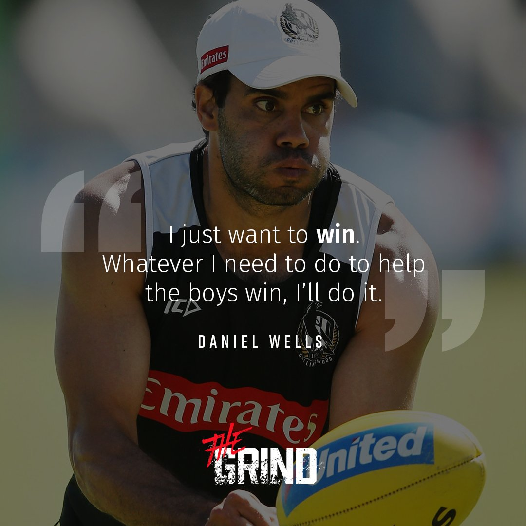 Daniel Wells is 🔒ed in. Watch the veteran compare this pre-season to last on #TheGrind - https://t.co/jr3RIUFrfw #FOREVER
