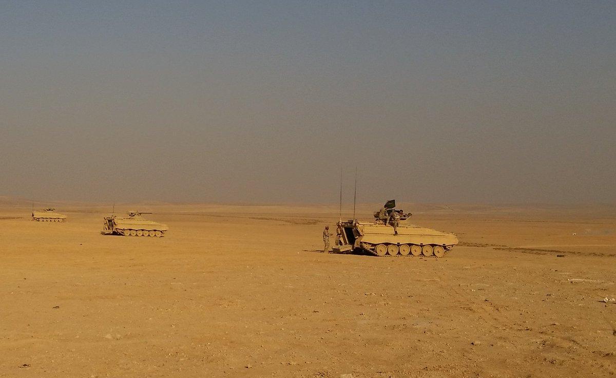 Rheinmetall تقوم بتحديث 25 من مدرعات MARDER IFV الأردنية  DREVKp-WsAAdKtc