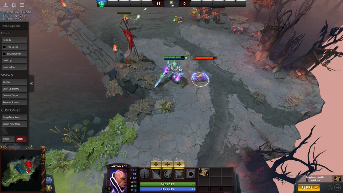 reddit dota 2 on twitter baby am spawns in demo mode when you