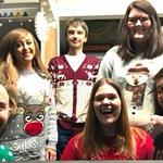 RT @DarwinEscapes: Celebrating #ChristmasJumperDay...