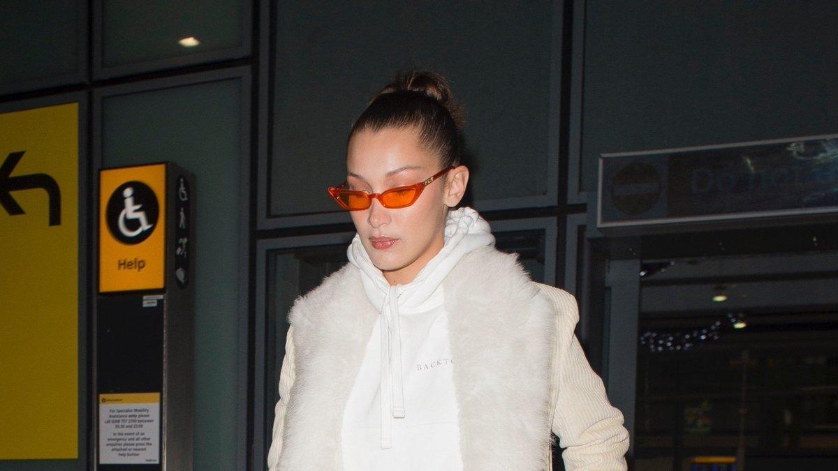 Bella Hadid served up the ultimate fashion #TBT referencing '90s-era Gwen Stefani. https://t.co/hM2njSp2l3