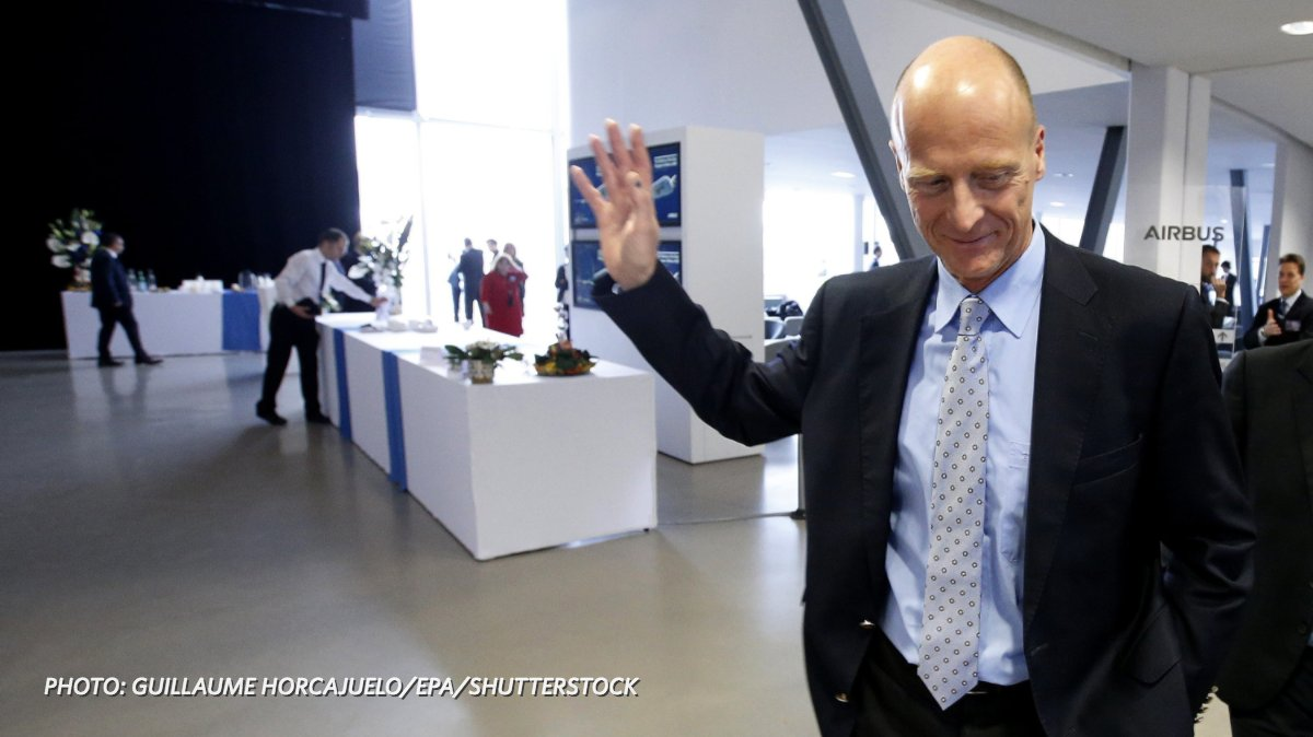 Airbus confirms its CEO will leave the company in 2019 https://t.co/WzGsgDh3UX