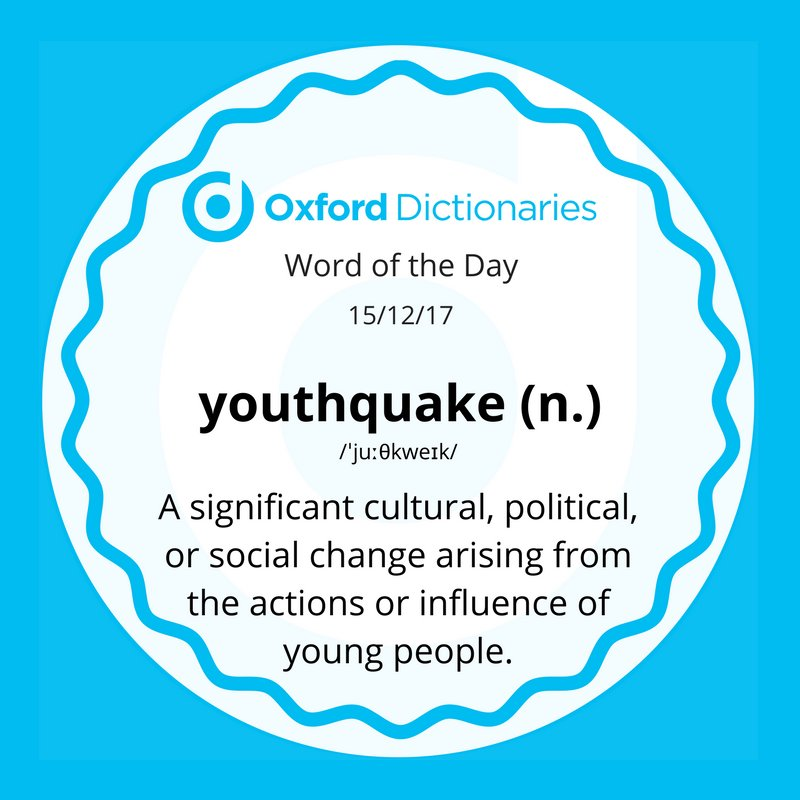 Image result for youthquake definition
