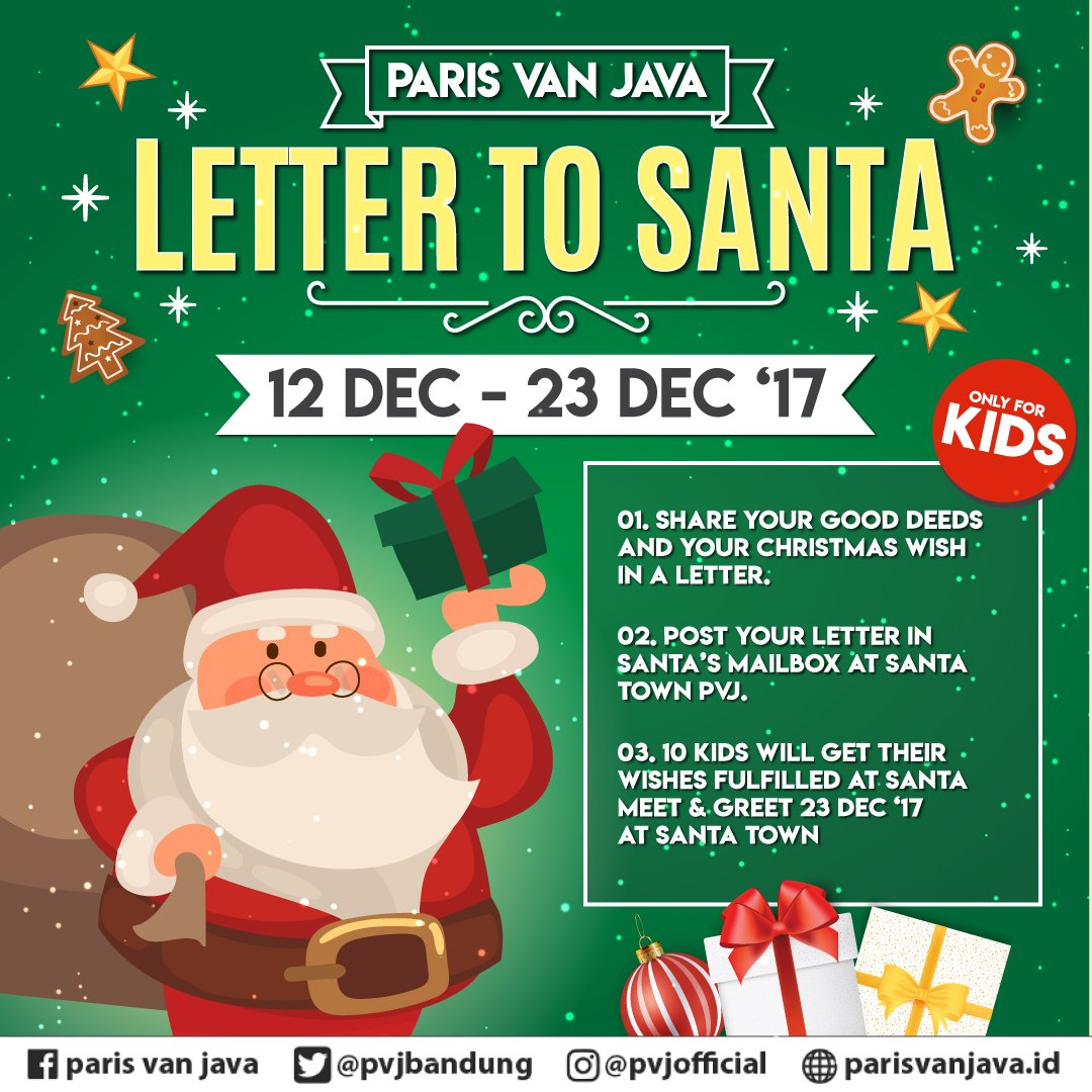 Paris Van Java On Twitter Hello Kids Santa Is Coming To Town