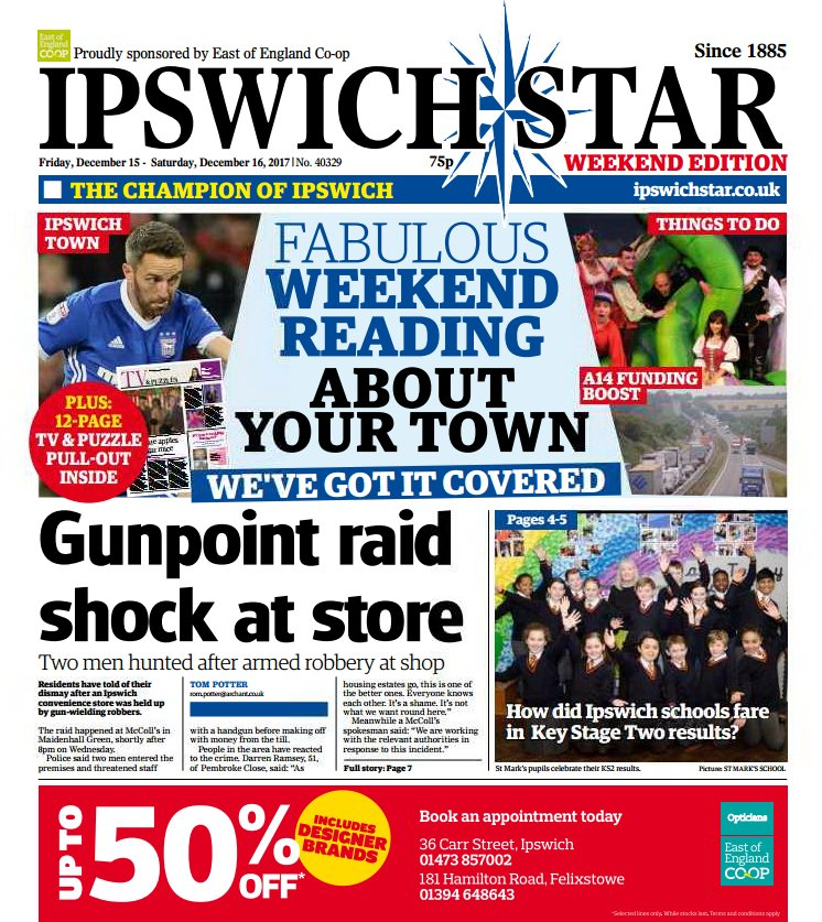 In your @ipswichstar24 today - Shoppers...