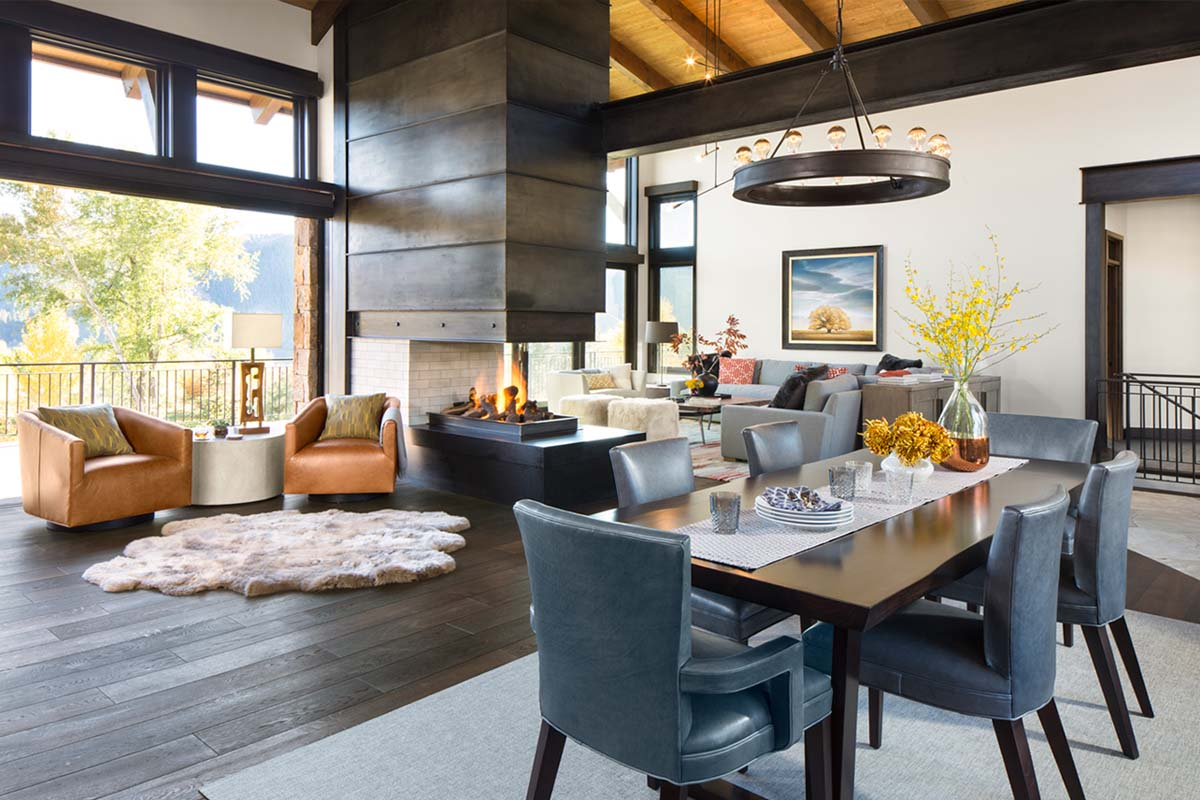 one kindesign on twitter   u0026quot vail valley retreat is defined by impressive mountain surroundings