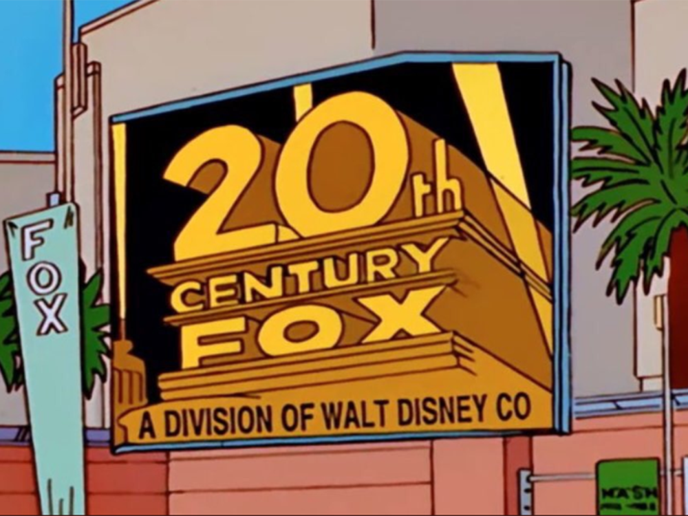 They did it first: The Simpsons 'predicted' the sale of Fox to Disney — two decades ago https://t.co/QGQ4zgRZ7G