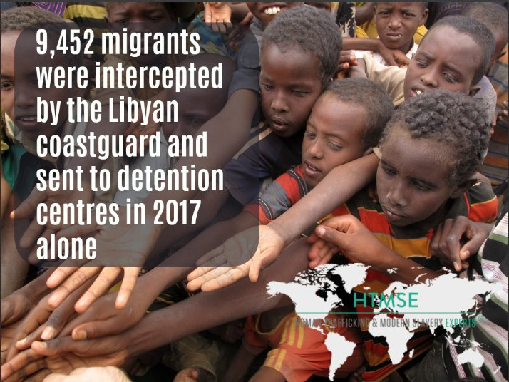 Has the #MigrantCrisis become a #HumanTrafficking crisis? Read our latest on the escalating situation in Libya and the absence of appropriate international intervention: https://humantraffickingexperts.com/blog/