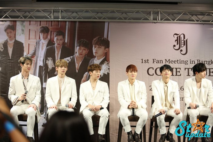 RT @webstarupdate: 171215 press con #JBJ  #JBJComeTrueinBkk https://t.co/Ldt9wUrpPs